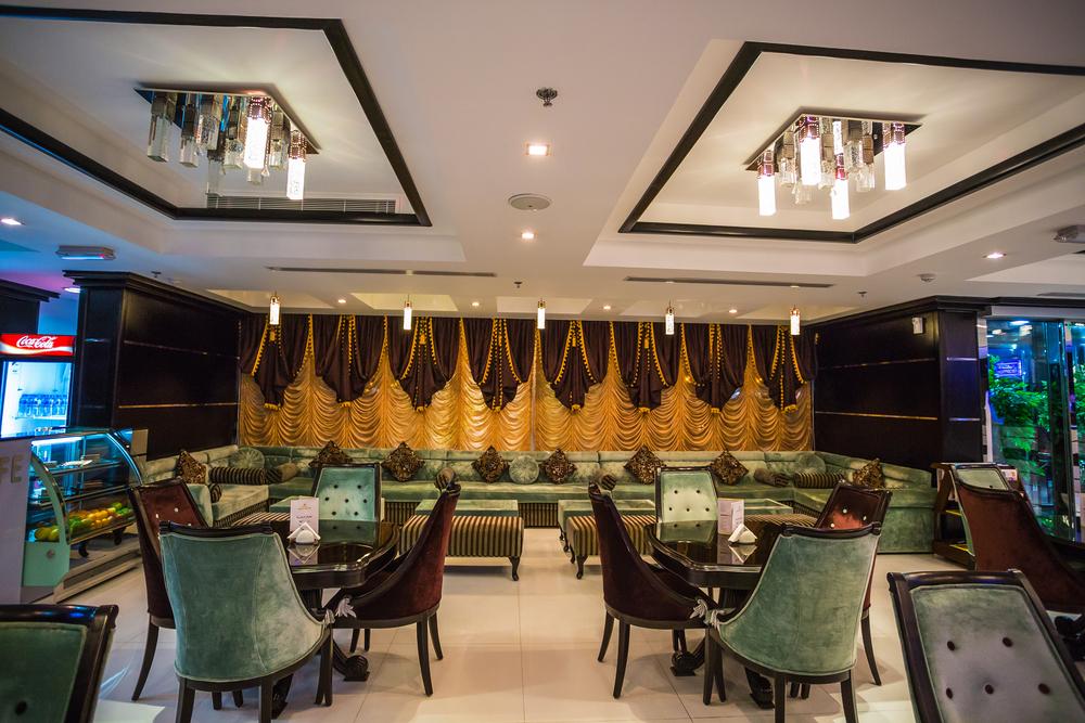 Reception Royal Grand Suite Hotel. Hotel has 136 guestrooms ©Zhukov Oleg / Shutterstock