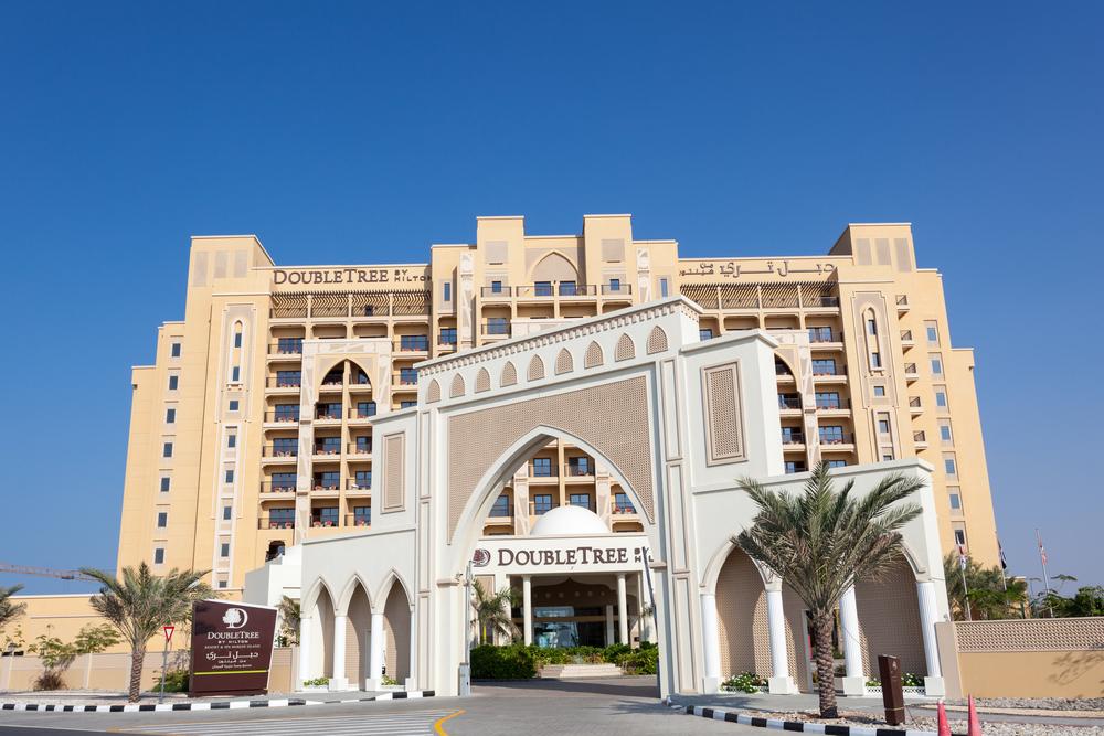The luxury DoubleTree by Hilton Hotel Resort and Spa Marjan Island ©Philip Lange / Shutterstock
