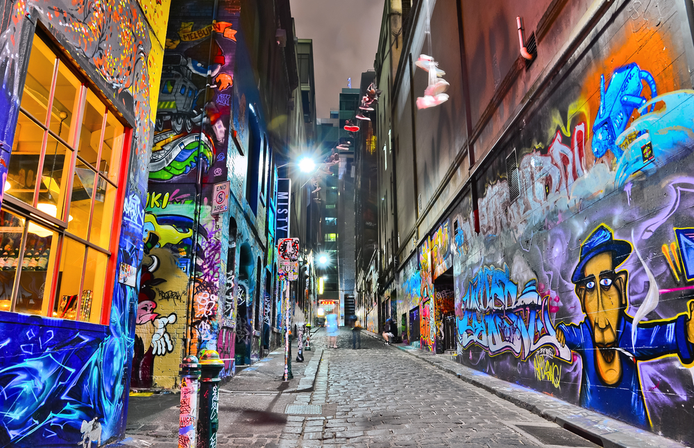 Known for its graffiti art Melbourne has many hidden jewels ©Javen / Shutterstock