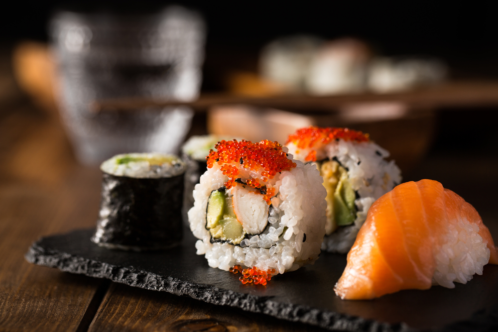 Sushi at © funkyfrogstock / Shutterstock