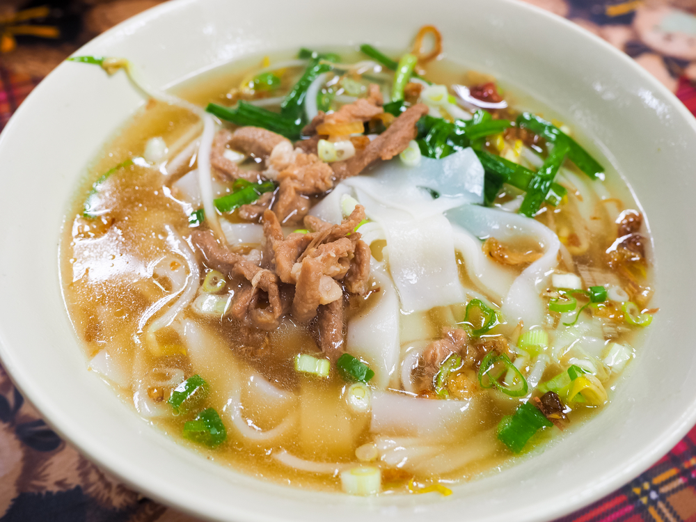 Rice noodles soup © Johnson76 / Shutterstock