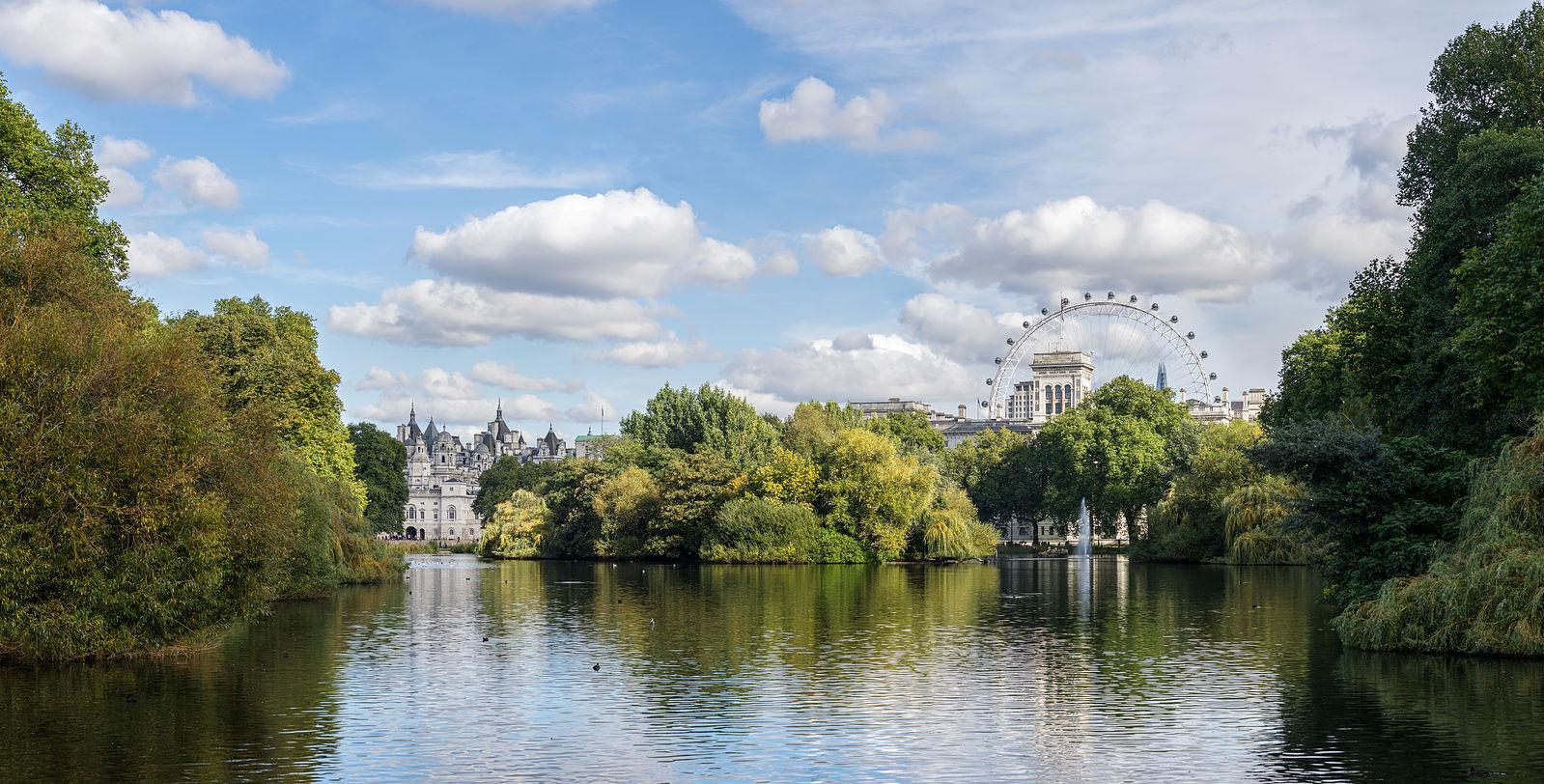 St James's Park Lake | © Colin / WikiCommons