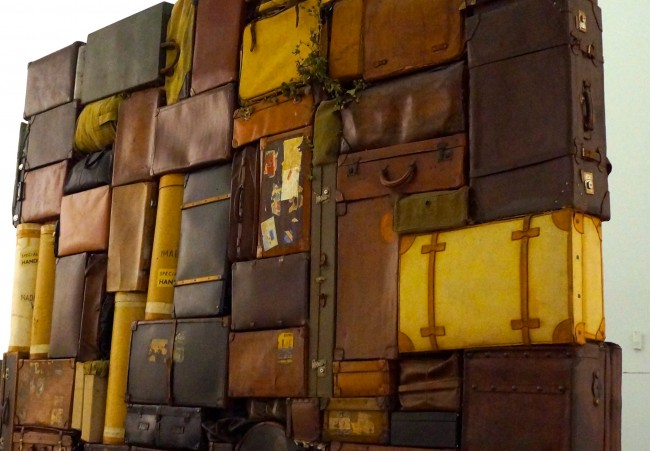 Fabio Mauri, The Western Wall or the Wailing Wall (installation view, detail, Venice Biennale, 2015) | © Stephanie Carwin