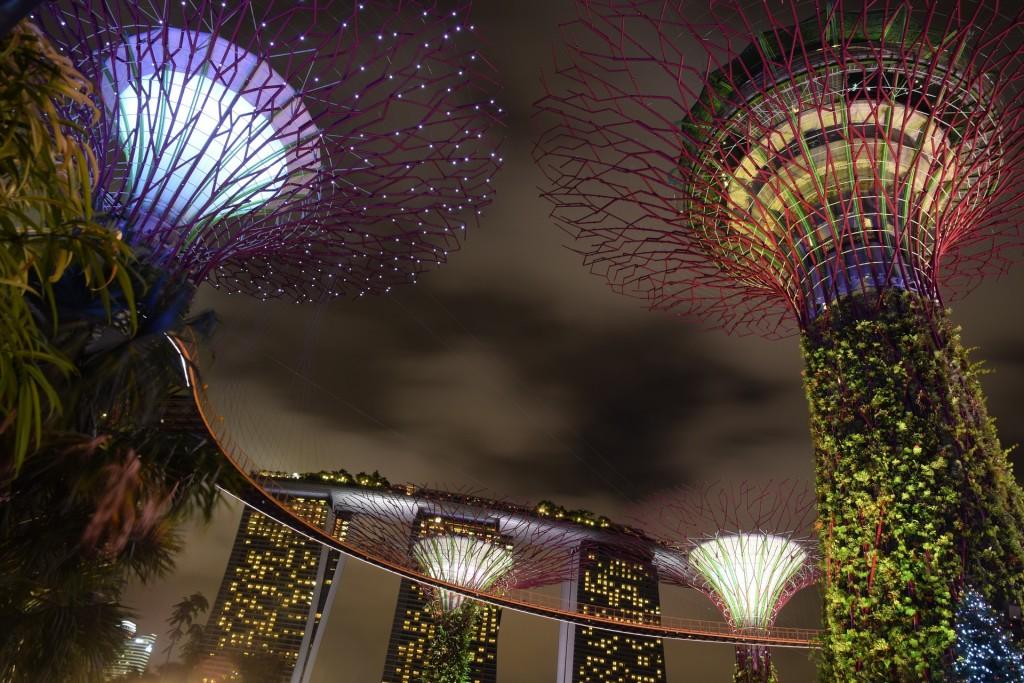 modern cities, singapore