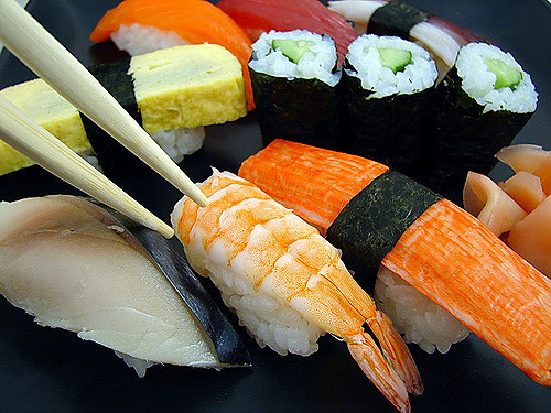 Sushi | © Tony Gladvin George/Flickr
