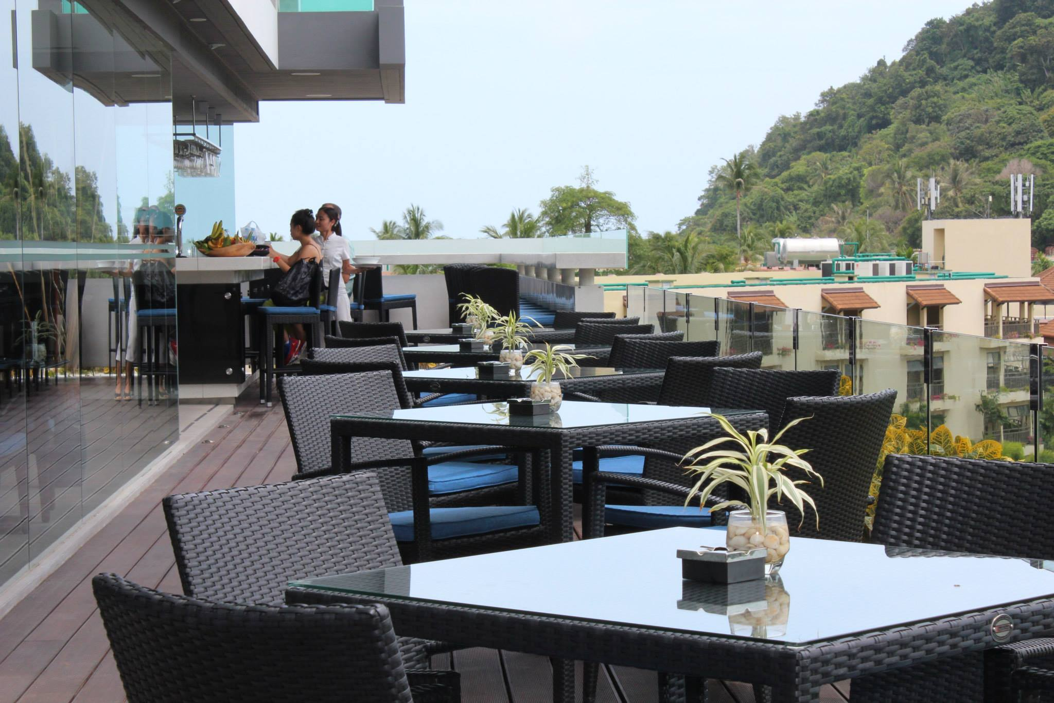 Terrace | Courtesy of Blue Mango