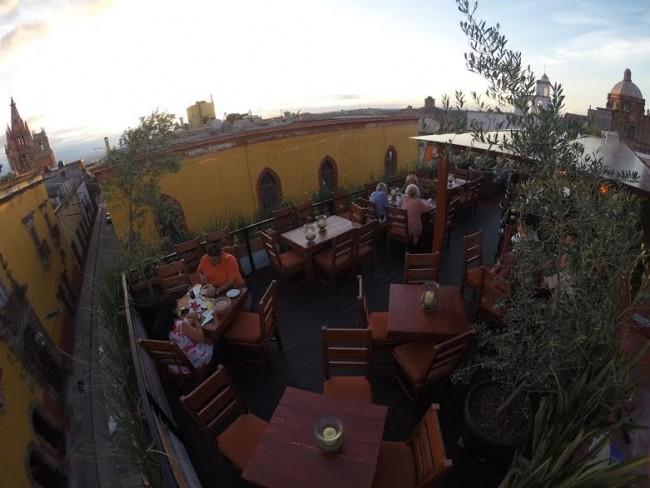 El Pegaso Rooftop Terrace©Courtesy of El Pegaso
