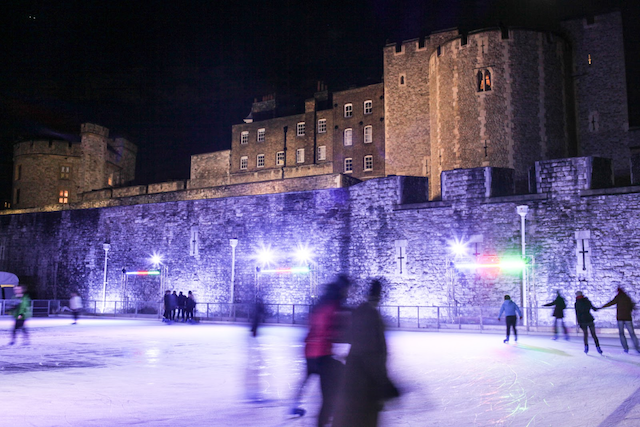 Ice Skating at the Tower of London | © Francis Hawkins