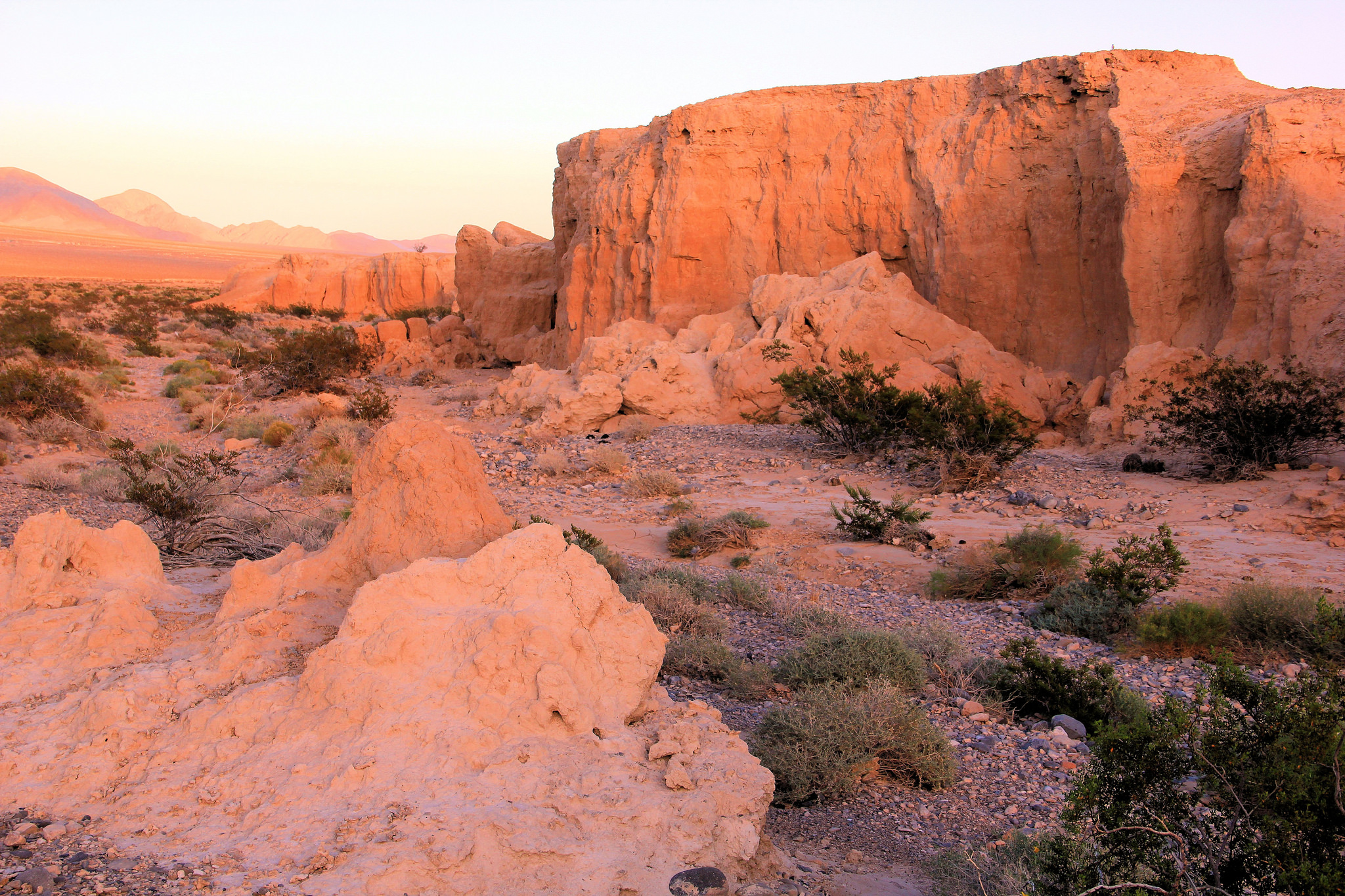 Tule Springs Fossil Beds at Sunset | © NPCA Photos/Flickr