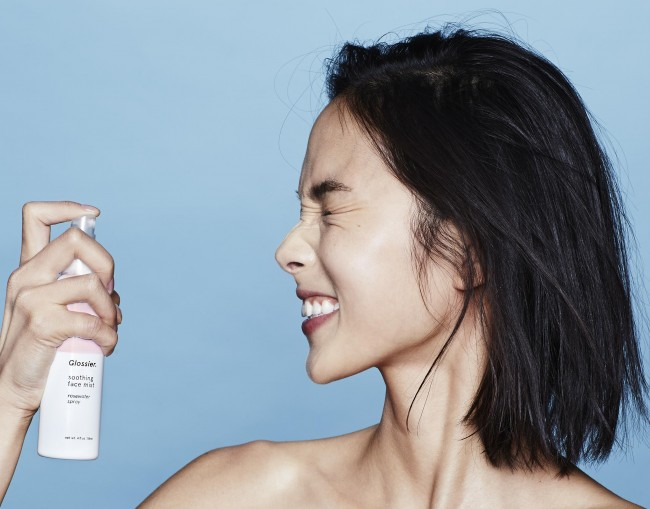 Glossier's Soothing Face Mist, Courtesy of Derris & Company