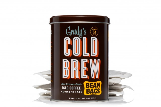 Cold Brew Bean Bag Can, Courtesy of Grady's Cold Brew