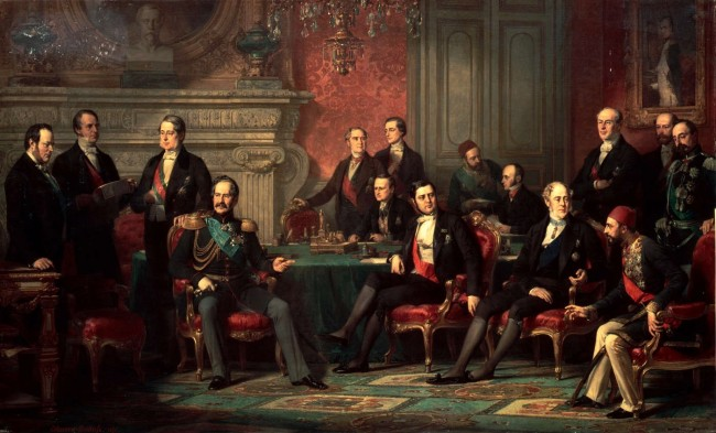 Vienna Congress as depicted by Édouard-Louis Dubufe  © Wiki Commons