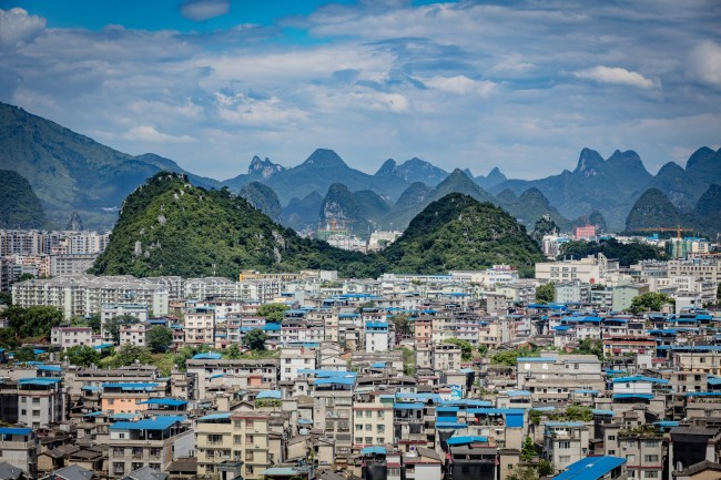 View on Guilin from Fubo Hill   © Thomas Bächinger/Flickr
