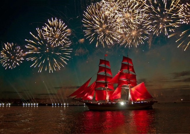 The Red Sails celebration in St. Petersburg |© Irina Mobiovyc /Pixabay