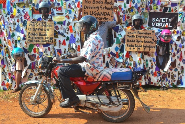 Boda Boda Opportunity-Interaction | Courtesy of Collin Sekajugo