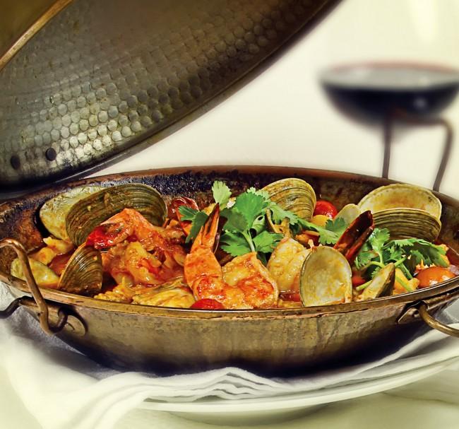 Seafood Dish | Courtesy of Via Norte Restaurant