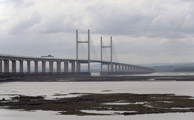 Second Severn Crossing from northern side |© Matt Buck / Flickr
