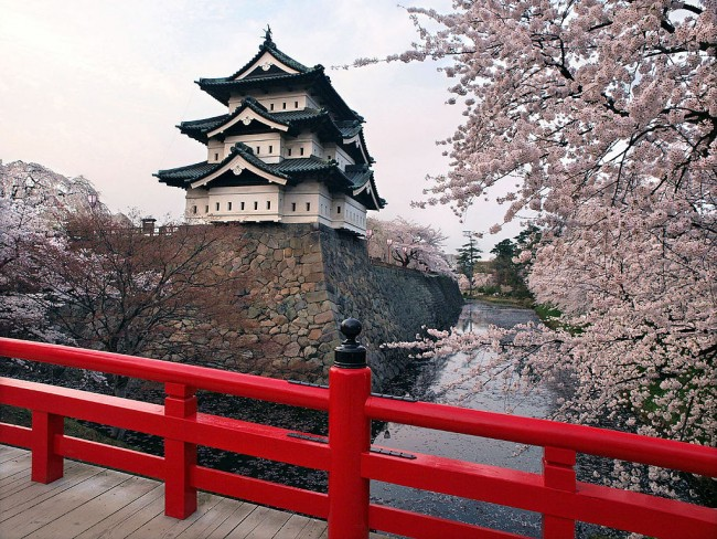Hirosaki Castle |© Angaurits/WikiCommons