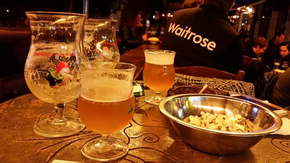 Beer Glasses at Chouffeland | Courtesy of Chouffeland