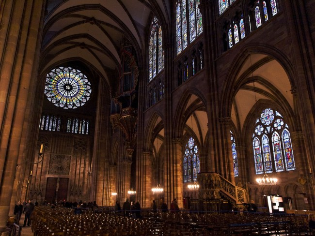 Strasbourg Cathedral Interior | © Stephane Martin/WikiCommons