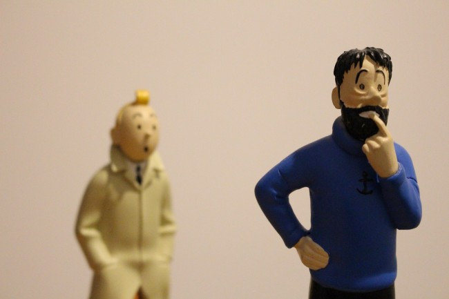 Tintin and Captain Haddock | © Thibaut Démare/Flickr