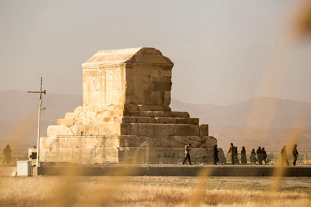 Tomb of Cyrus the Great | ©sunriseOdyssey/Flickr
