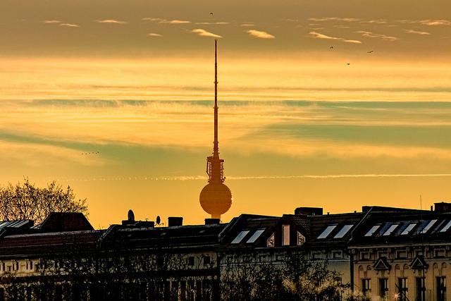 Fernsehturm from Moabit © Sebaso/Flickr