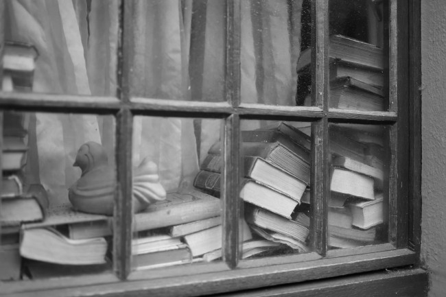 Stacking books (German style) |© Alexandre Dulaunoy /Flickr
