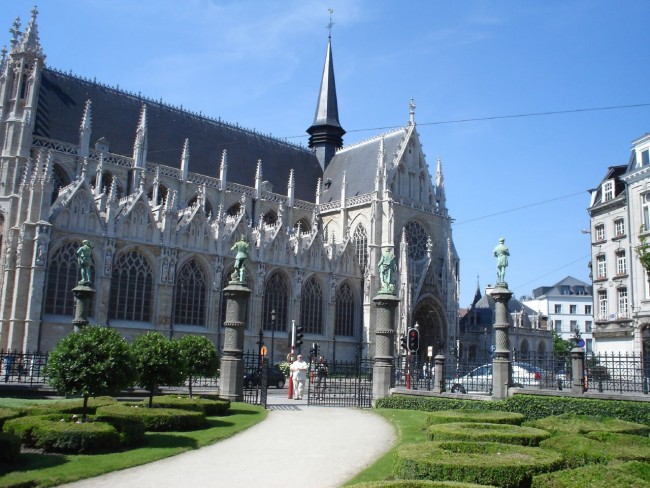 Our Blessed Lady of the Sablon Church in Brussels | © Linda/Flickr
