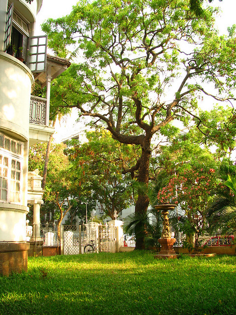 A typical Victorian design apartment at Dadar Parsi Colony ©Kaushal Karkhanis/Flickr
