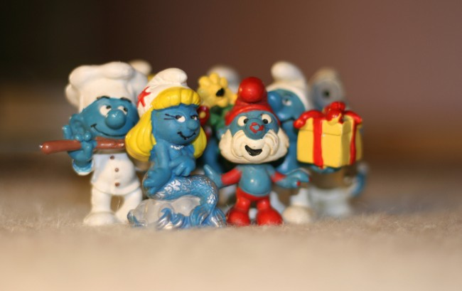 Smurf family | © Kate Fisher/Flickr