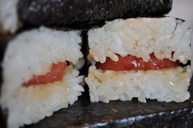 Traditional Spam musubi | © Kim Love/Flickr
