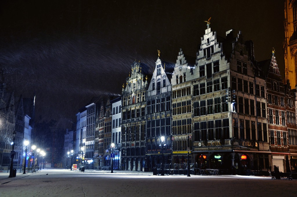 Snow in Antwerp | © Russ Bowling/Flickr