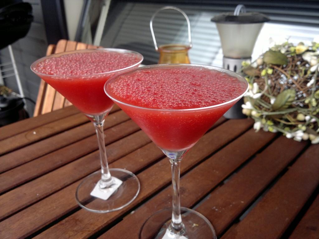 Frozen Strawberry Margaritas ©Antti Kultanen