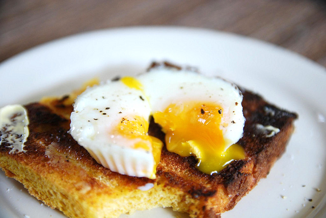 Poached Eggs | © Alpha/ flickr