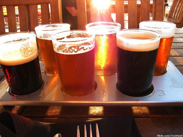 Flight of Beer   © Chris/Flickr