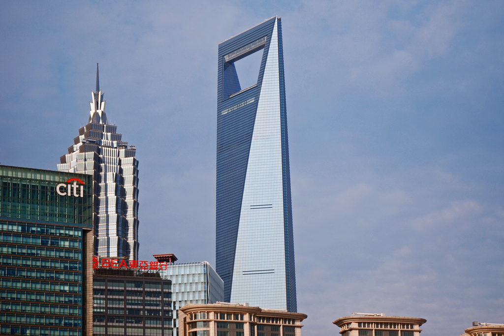 Shanghai World Financial Center | © Harvey Barrison / flickr