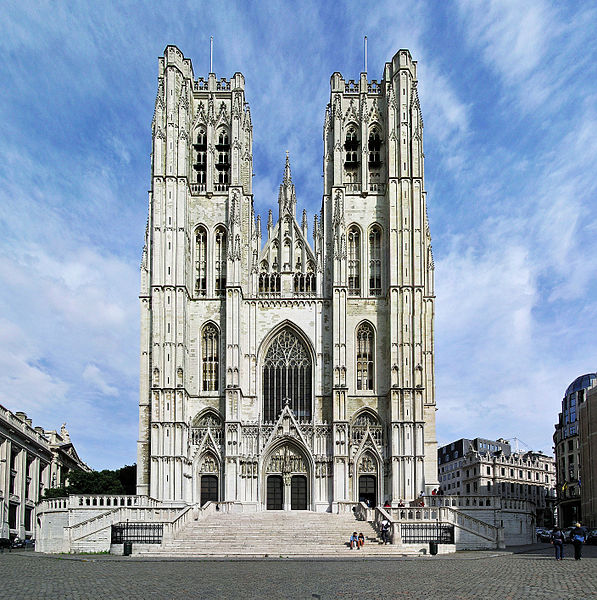 Cathedral of St. Michael and St. Gudula in Brussels | © Donaldytong/WikiCommons