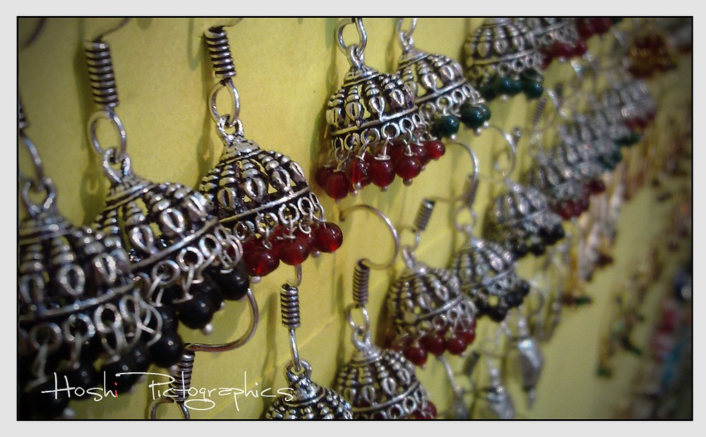 Jhumka Jewellery ©babi krishna