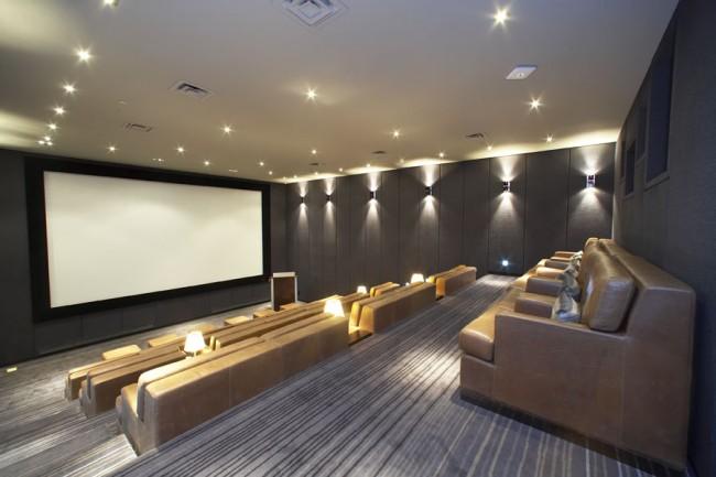 Silver Screening Room | Courtesy of The Hazelton Hotel