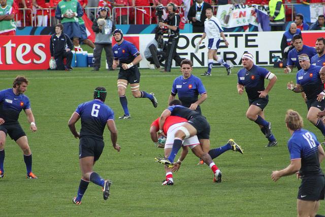 French rugby | © Craig Boyd, Flickr