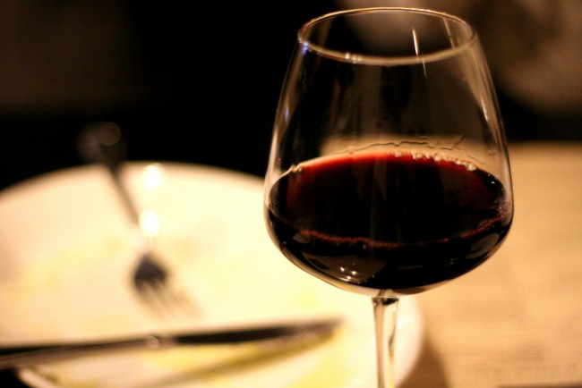 red wintery wine at Osteria Marco | © Jing/Flickr