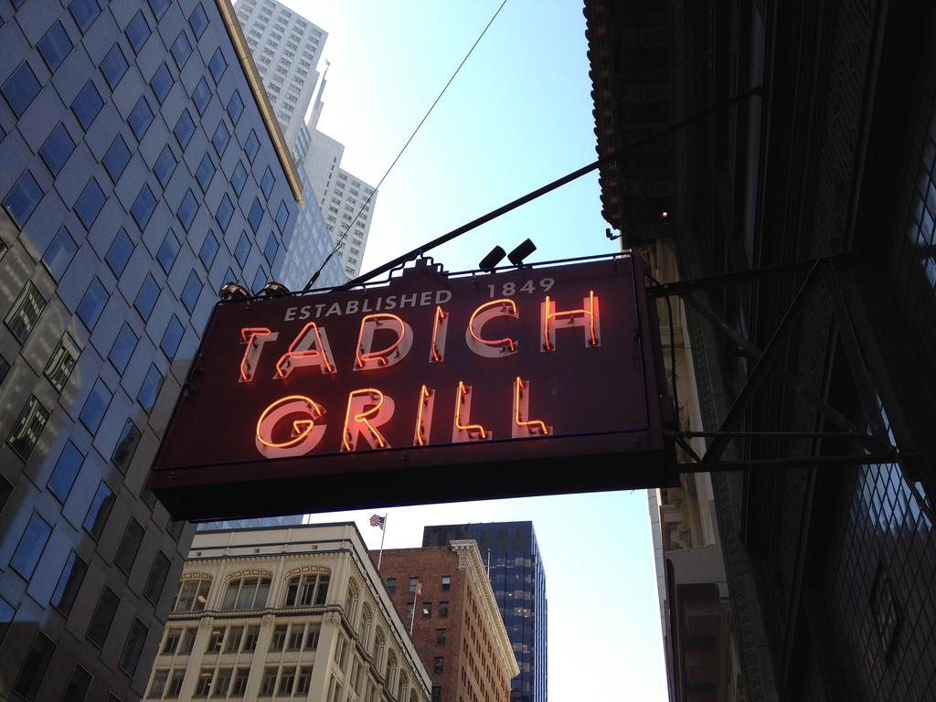 Tadich Grill, San Francisco © Dion Hinchcliffe/Flickr