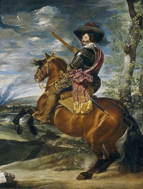 Diego Velázquez, Equestrian Portrait of the Count-Duke of Olivares, c. 1636   © Museo del Prado/WikiCommons