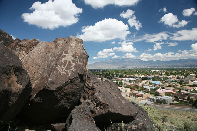 Petroglyph is Albuquerque, NM | © Daniel Schwen/Flickr