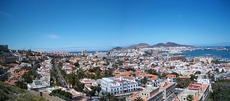 Las Palmas de Gran Canaria | © Matti Mattila / Wiki Commons