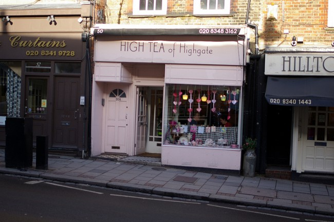 Exterior of High Tea of Highgate | © Amelia Wells/Flickr
