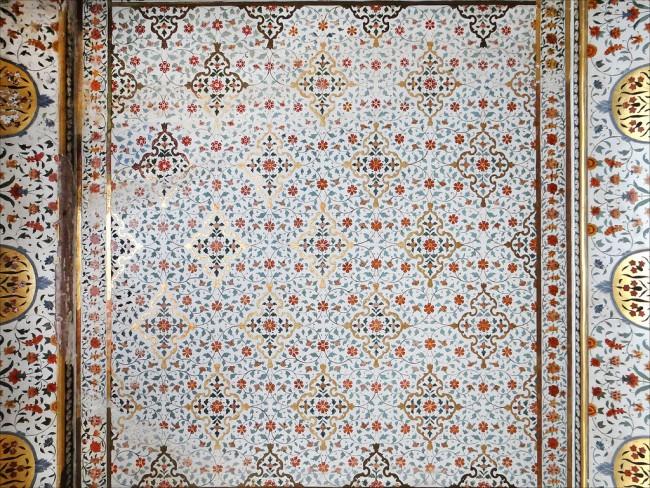 Details of the ceiling at Junagarh Fort © Jean-Pierre Dalbéra/Flickr