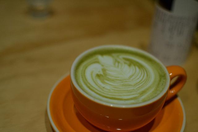 Green tea latte|© kawaiikiri Flickr