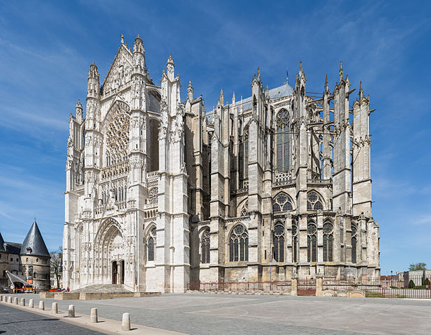 Beauvais Cathedral Exterior | ©Diliff/ WikiCommons